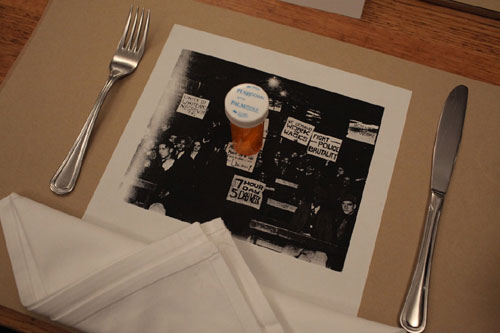 MoMA's Capital Exchange: A Dinner Event Place setting