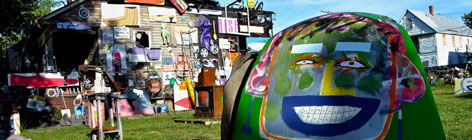 Heidelburg Project- Street View,  Photo credit: The Heidelburg Project.