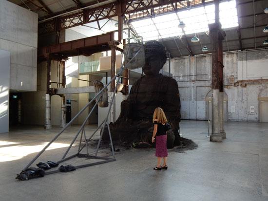 Zhang Huan Buddha Sydney Sculpture