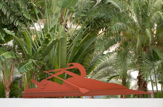 Jose Bedia Sagamore Hotel Sculpture