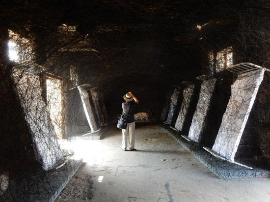 Chiharu Shiota Sculpture