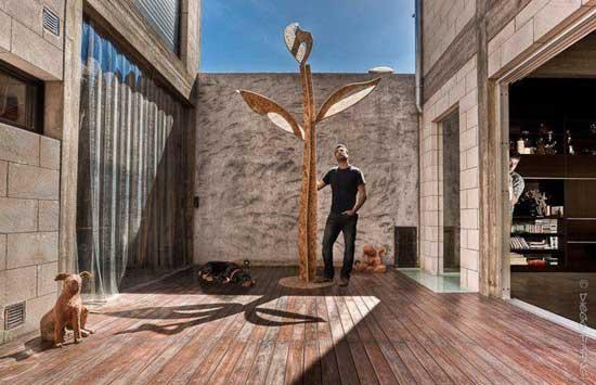 Federico Bacher Sculpture