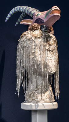 Saya Woolfalk sculpture