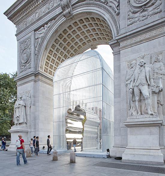 Ai Weiwei sculpture
